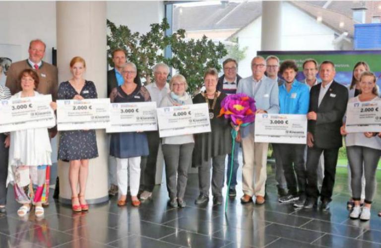 Kiwanis Möckmühl spendet 2000 Euro für anna & marie