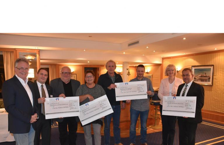 Lions Club Heilbronn-Wartberg übergibt 3000 Euro