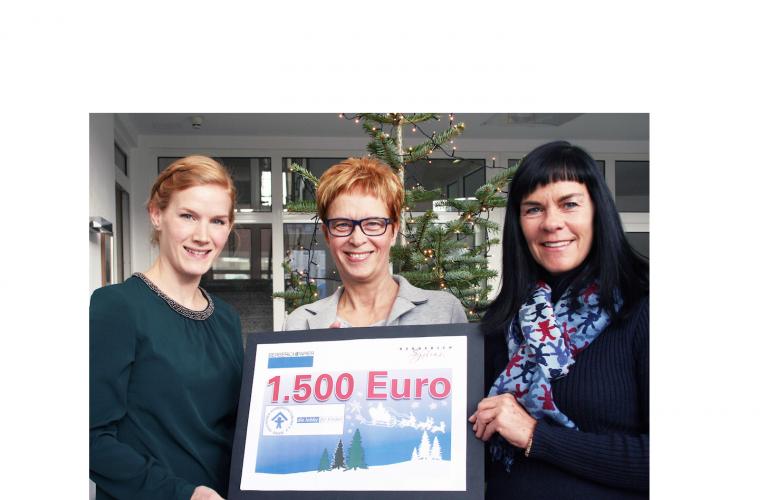 Berberich spendet 1500 Euro