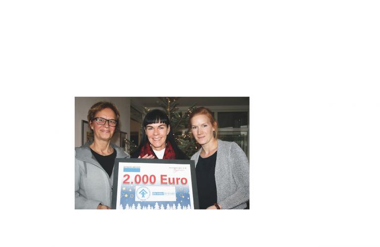 Berberich spendet 2000 Euro