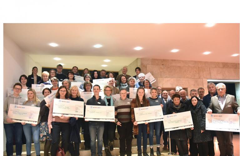 PSD L(i)lebenswert spendet 5000 Euro