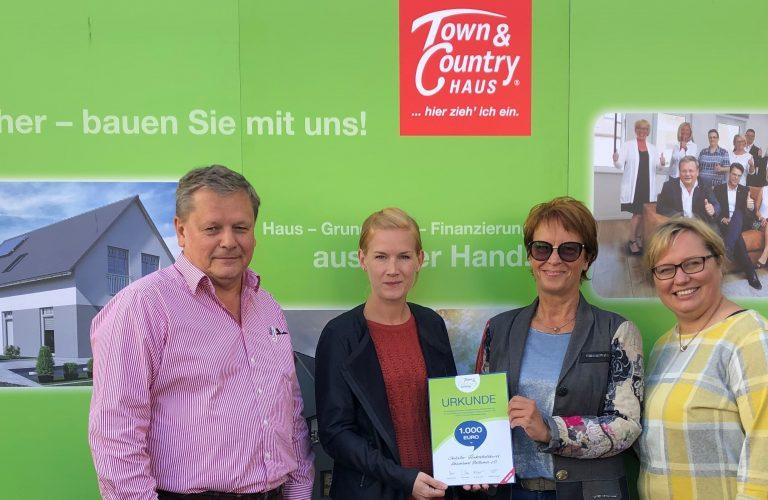 Wohn(t)raum Michalek übergibt 1000 €